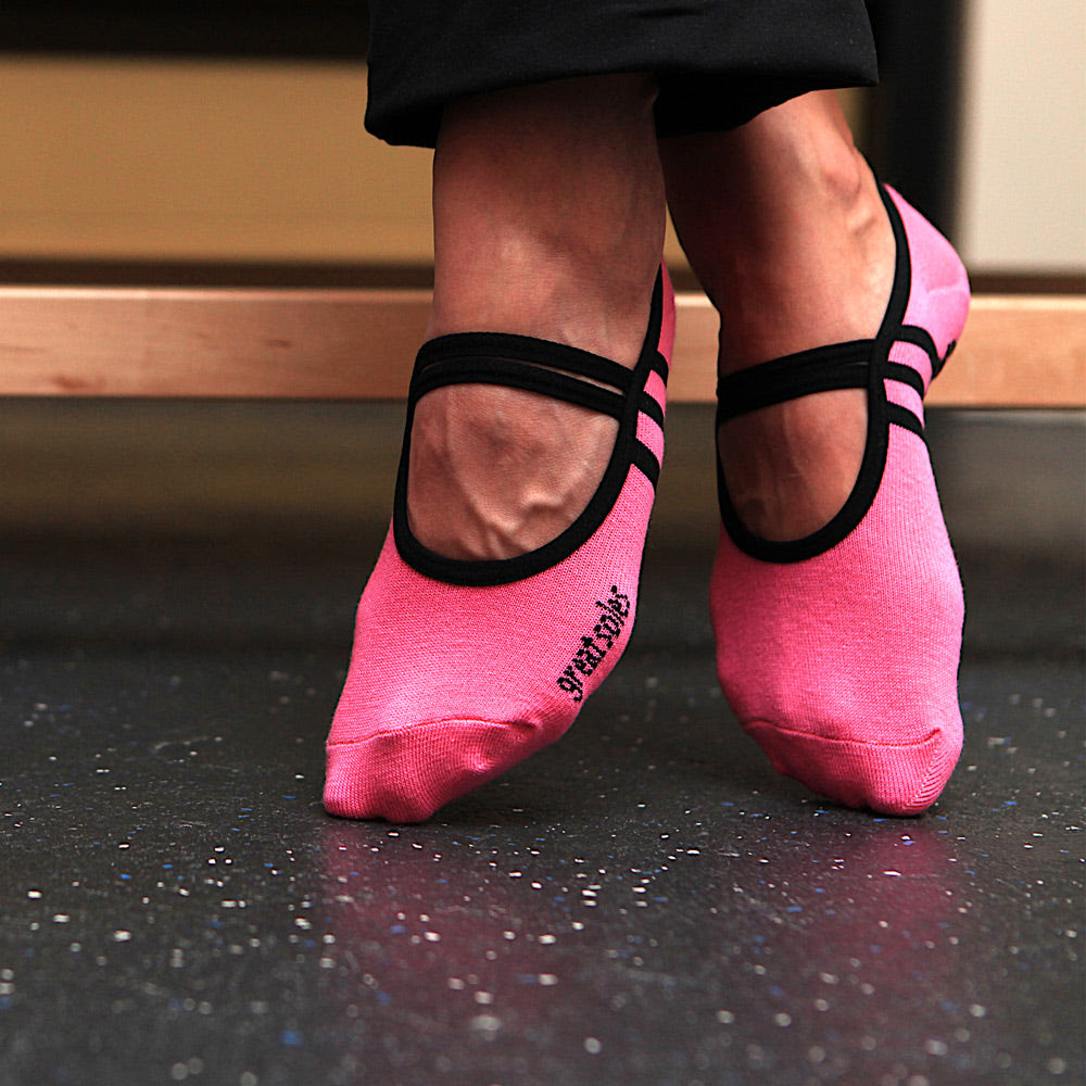 Great Soles Pink Ribbon Ballet Barre Ped