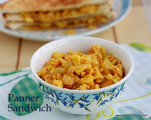 Paneer Sandwich 2