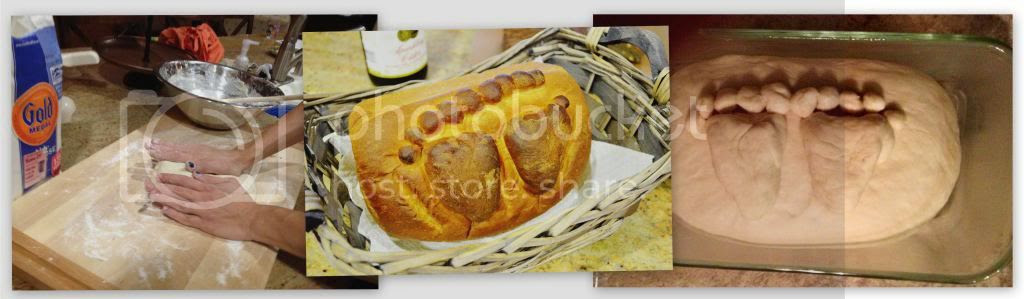 The making of my Proshtapulnik Bread