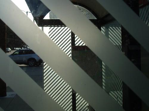 Bus Shelter Stripes