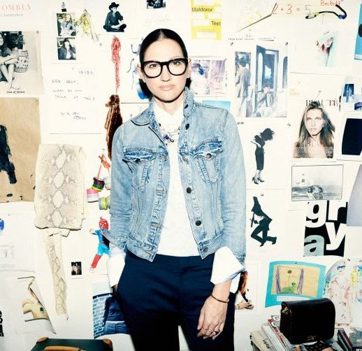 LE FASHION BLOG CHIC FRAMES LOOKMATIC IPAD AIR GIVEAWAY JENNA LYONS TIME MAGAZINE BLACK ROUND EYEGLASSES GLASSES JEAN JACKET WHITE COLLARED BUTTON UP SHIRT BLACK PANTS TROUSERS COLLAGE WALL OFFICE DECOR 2 photo LEFASHIONBLOGCHICFRAMESLOOKMATICIPADAIRGIVEAWAYJENNALYONSTIMEMAGAZINE2.jpg