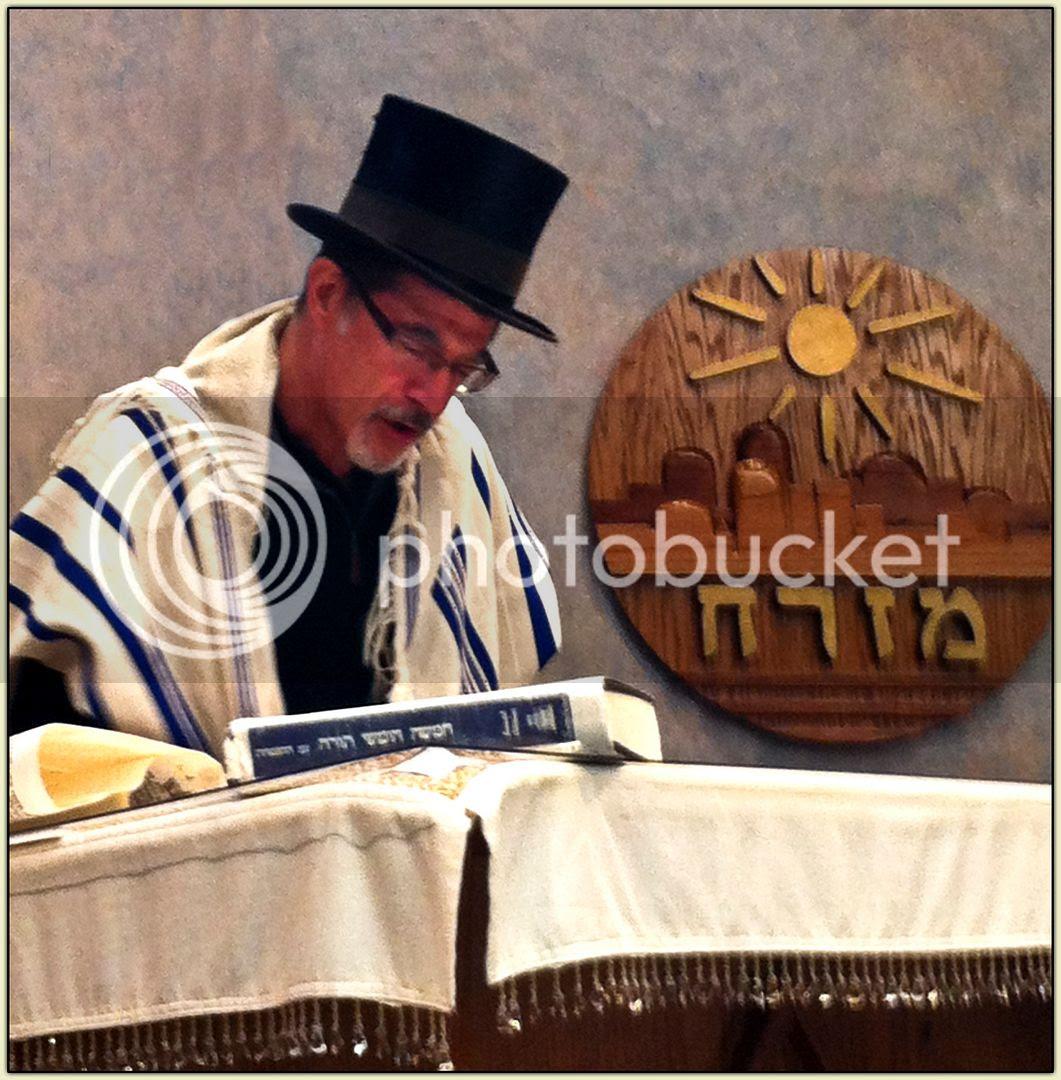Reading the Megillah