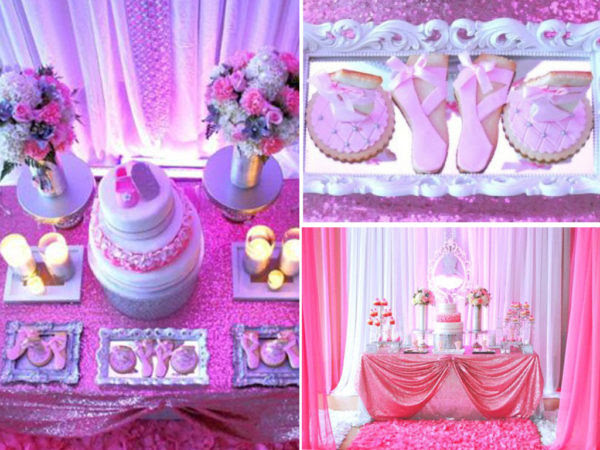 Pretty Pink Ballerina Baby Shower Baby Shower Ideas Themes Games
