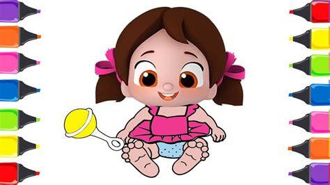 bebek niloya boyama niloya cizgi filmi cocuk sarkilari