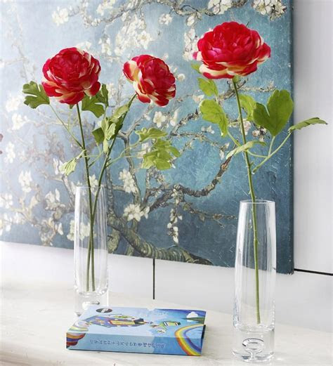 Decorative Flowers Chinese Herbaceous Peony Artificial