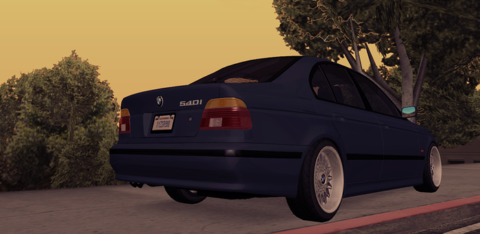 Rel Bmw 540i E39 Facelift For Premier Los Santos Roleplay
