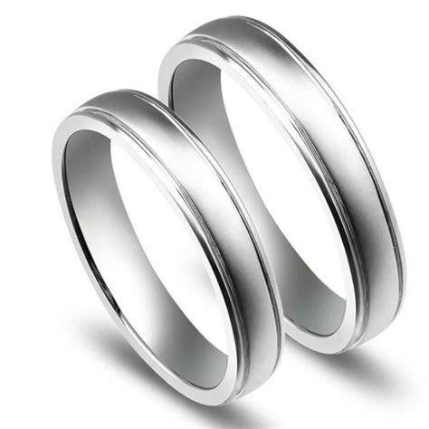 Couple Wedding Rings White Gold   Wedding Ideas