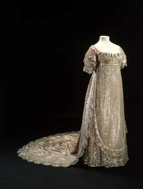1816 Princess Charlotte's wedding dress   Grand Ladies   gogm