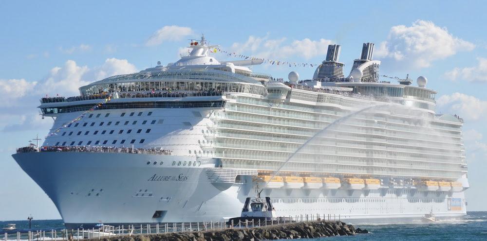 Самый большой в мире круизный лайнер