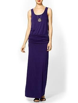 Hive & Honey Banded Knit Maxi Dress | Piperlime
