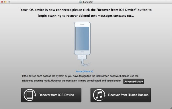 Get pictures off a screen broken iPhone 4 with iPhone 4 data recovery