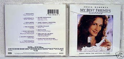 Julia Roberts My Best Friend's Wedding Music CD Used   eBay