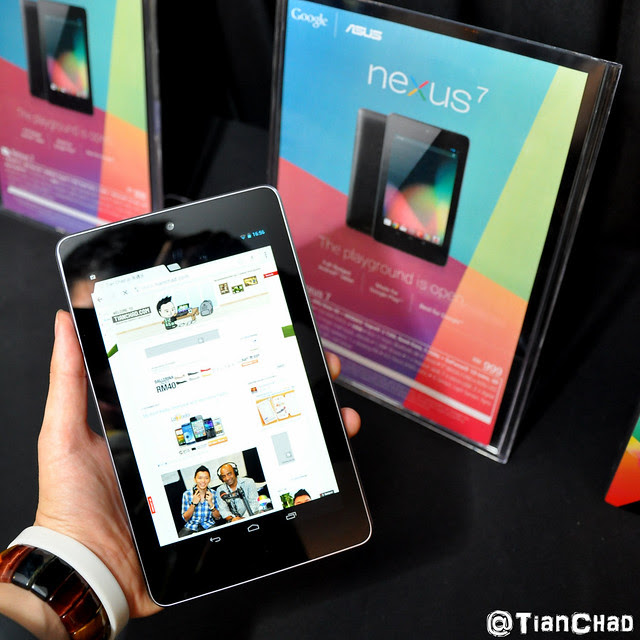 Google Nexus 7 Malaysia Price Launch RM999 Google Play Jelly Bean 4.1 Review
