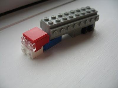 Optimus Prime Transformed to Truck