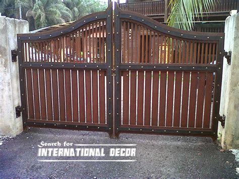 gate designs gate designs  private house  garage