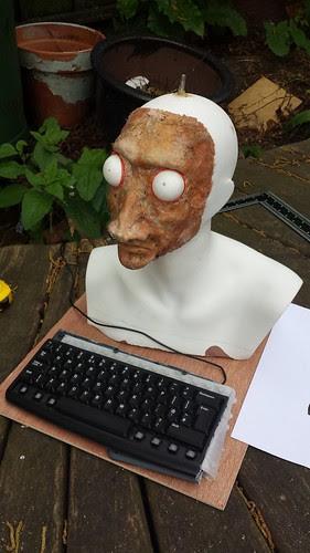 Measuring Fortune Teller keyboard mount