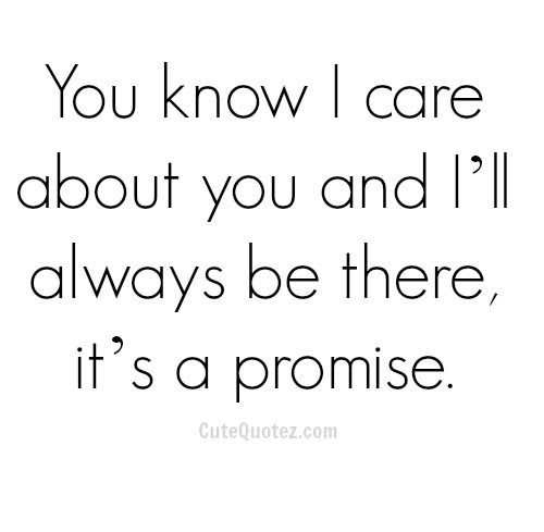Ill Always Be There Its A Promise Pictures Photos And Images For