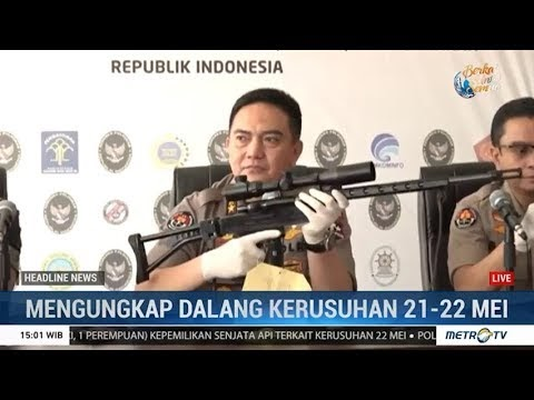 TNI-Polri Jumpa Pers Bersama: Ungkap Dalang Rusuh dan Perintah Pembunuhan 4 Tokoh Nasional dan Lembaga Survei