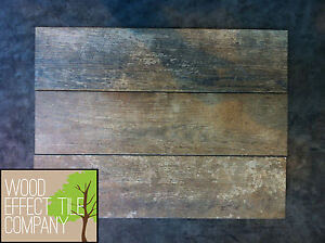 Rafine Rust Aged Wood Effect Tiles 15x60cm Wall Floor ...