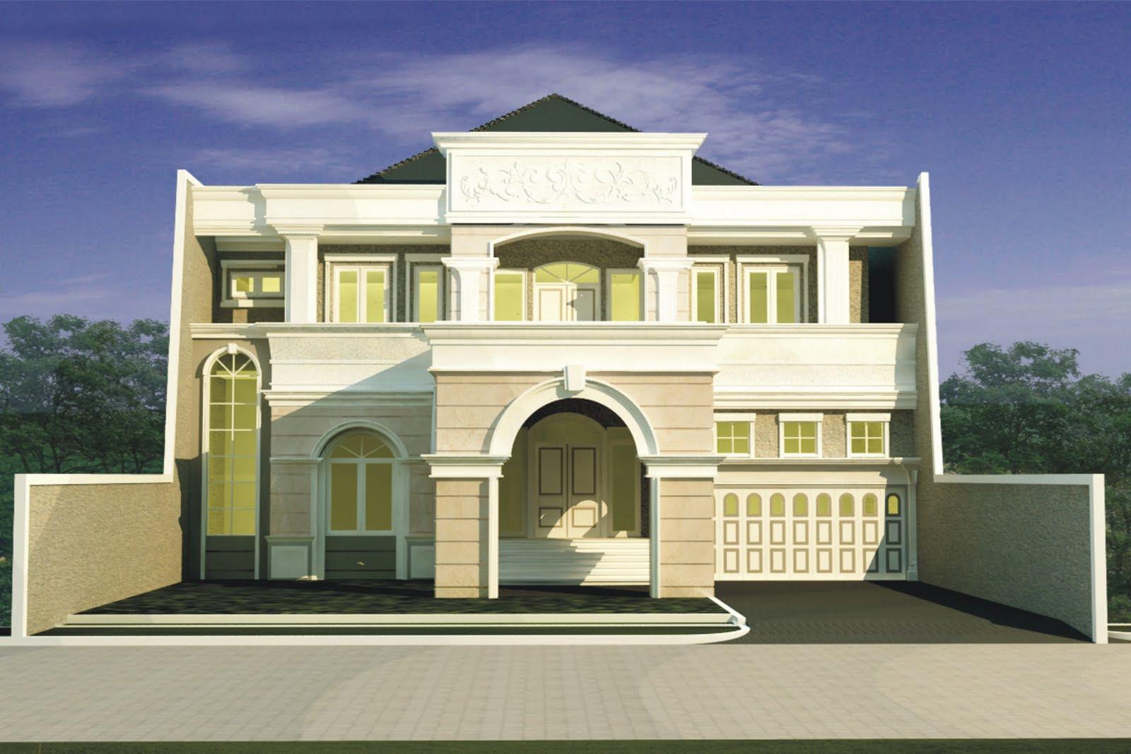 Rumah Minimalis Modern Klasik Hunian Damai Dan Tenang Rumahmurahid