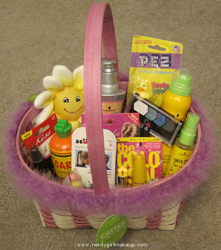 Nerdy Girl Makeup Blog Archive My Easter Basket