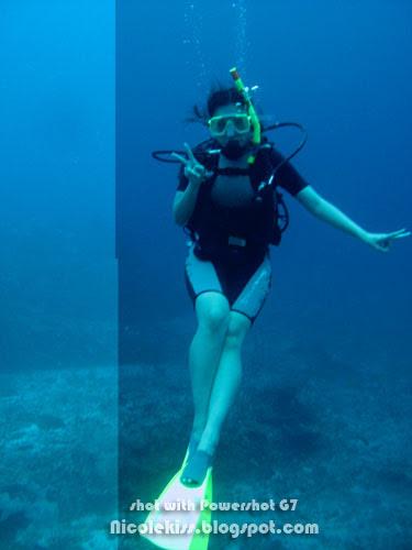 me in tioman sea