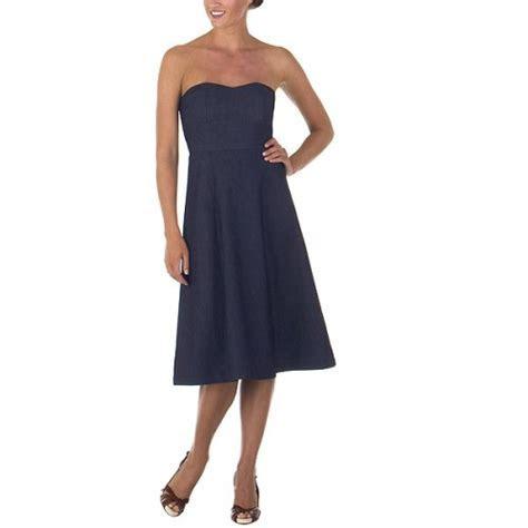 Isaac Mizrahi for Target® Strapless Denim Dress   Wedding