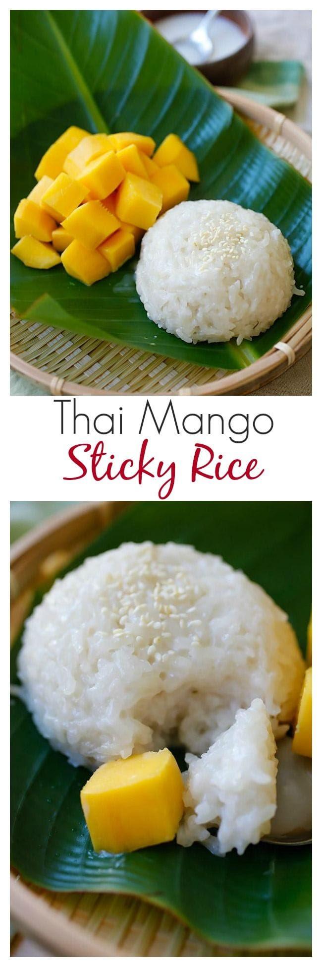 Mango Sticky Rice   Easy Delicious Recipes