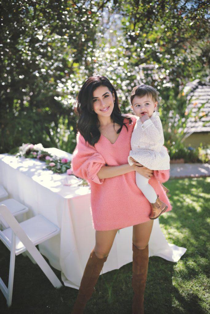 Our Baby Girls First Birthday Sazan