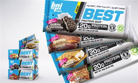 bpi protein bars    ct groupon goods