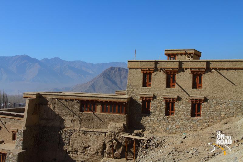 The climb to Leh Palace