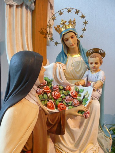 St. Therese, Jesus and Mary