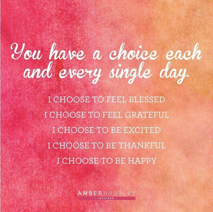 Make the choice to stay positive today! #happiness #blessed #grateful #thankful #happy #quotes