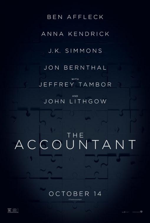 Resultado de imagem para the accountant 2016 posters