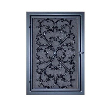 ORNAMENT IRON COLD AIR RETURN VENT - ROCOCCO