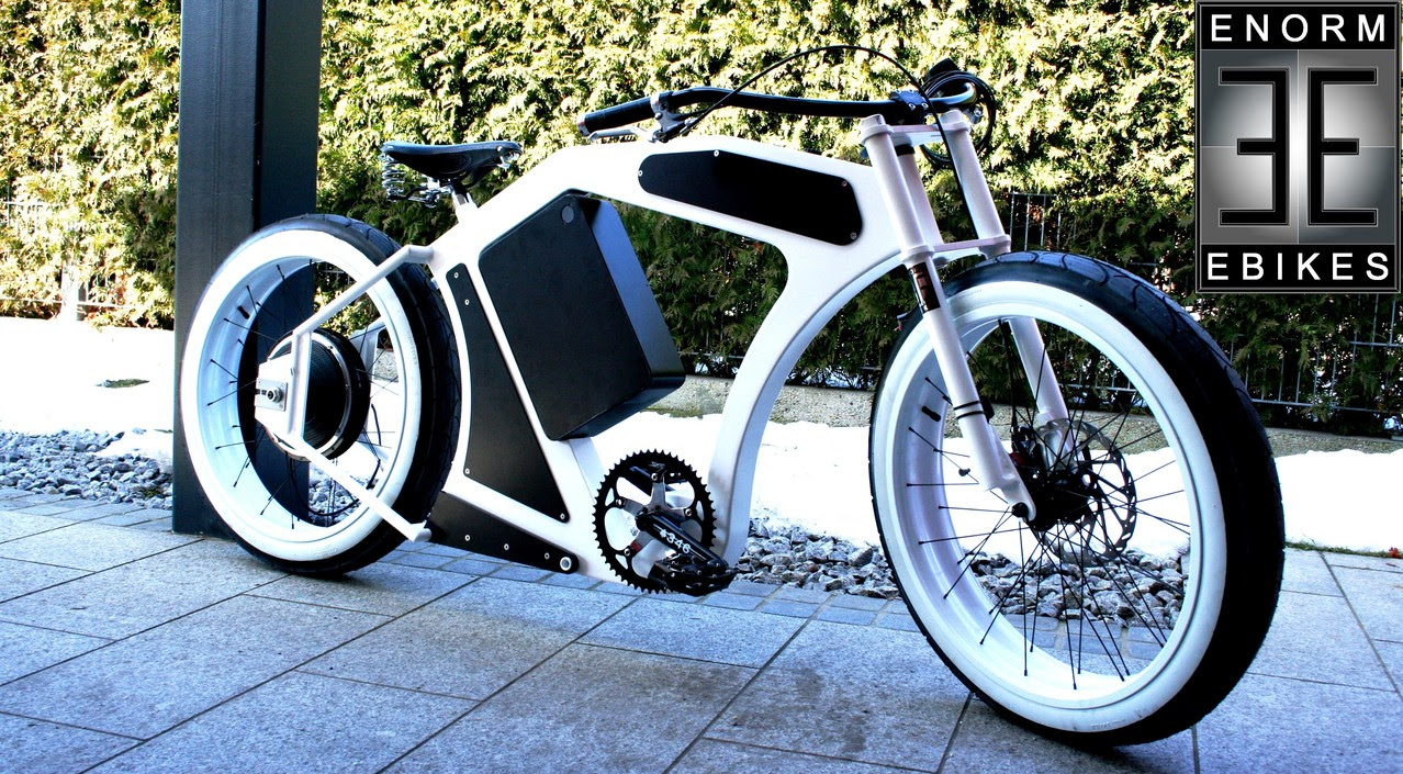Enorm eBike V3 Bullet: Electric Bikes Design Takes on the ...