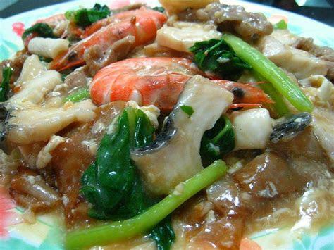 seafood hor fun resepi noodles mee pinterest