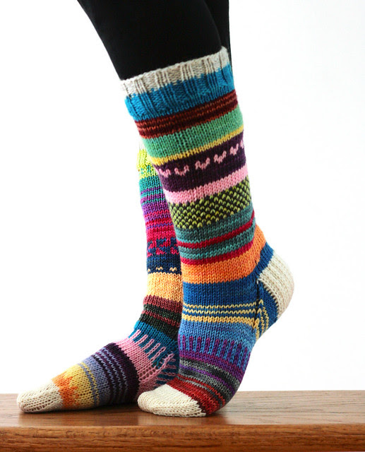 DK Scrappy Sock party