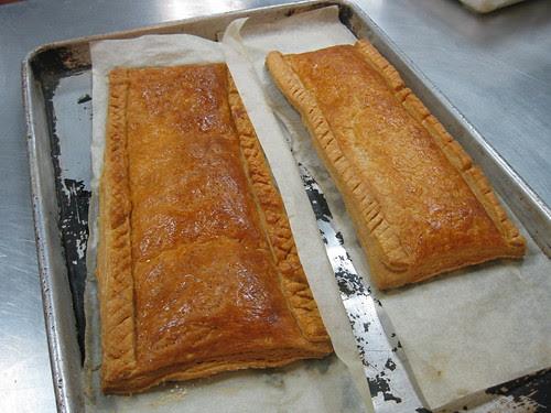 Pâte Feuilletée - Baked Puff Pastry Strip