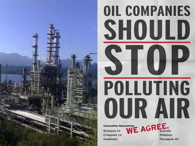 Oil Companies Should Stop Polluting Our Air: We Agree