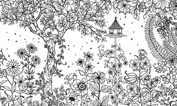 57 Secret Garden Coloring Book Page 11 Garden Page Book Secret 11