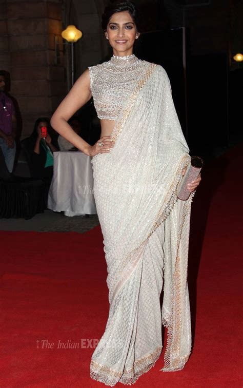 20  best ideas about White Saree on Pinterest   Blouse