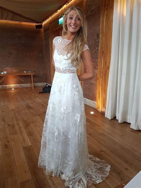 rime arodaky delilah  hand wedding dress  sale