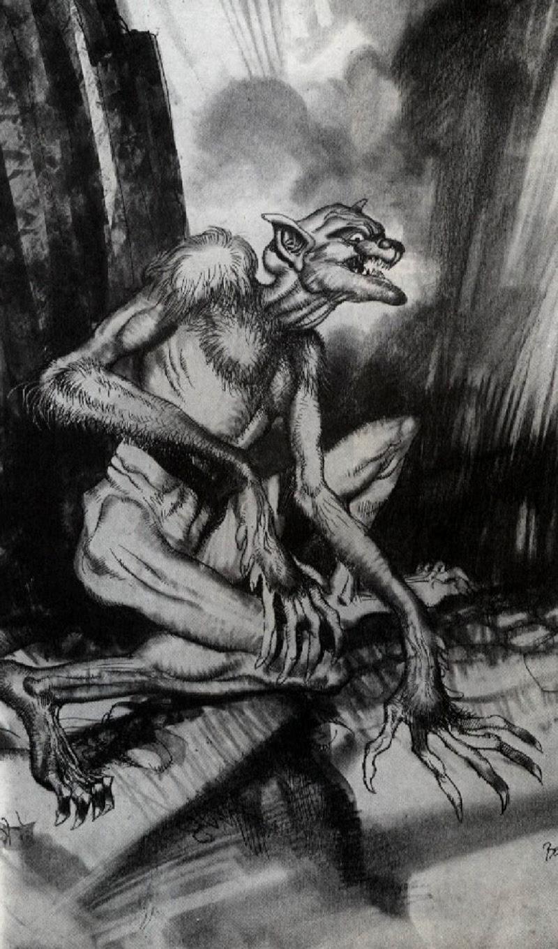 Josep M. Beá - Lovecraft Monster Gallery - 14
