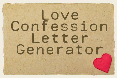 Love Letter Generator