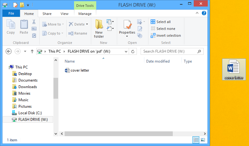 Computer Basics: Bringing Your Files with You