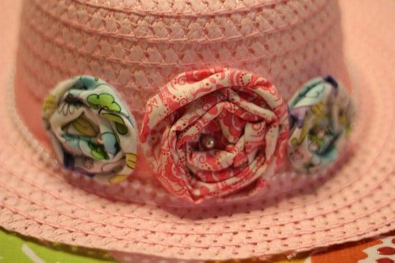 Little Girls Spring Time Hat