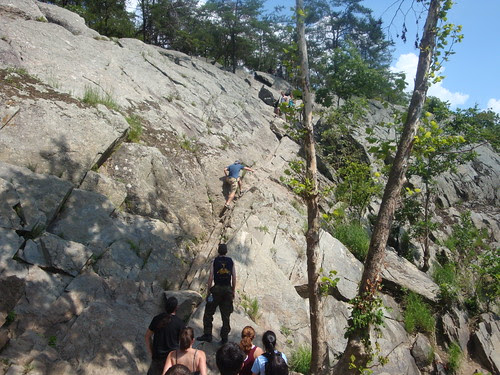 Crazy steep rocks