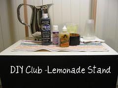 DIY Club Challenge! Lemonade Stand
