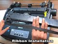 Dot Matrix Printer Ribbon Problems